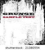 vector grunge background | Shutterstock .eps vector #21380554