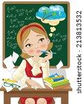 back to school  | Shutterstock .eps vector #213813532