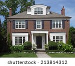 Traditional Two Story Brick...