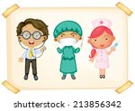 illustration of three different ... | Shutterstock .eps vector #213856342