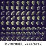 vintage looking mri showing... | Shutterstock . vector #213876952