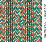 seamless vector ethnic pattern. ...   Shutterstock .eps vector #213931672