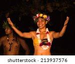 tahaa  french polynesia   circa ... | Shutterstock . vector #213937576