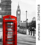 british telephone booth in...
