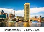 The Inner Harbor  Baltimore ...