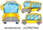 Illustration Of Many School...