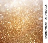 Abstract Gold Background With...