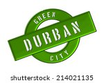 green city durban | Shutterstock . vector #214021135