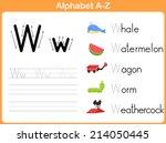 Alphabet Tracing Worksheet ...