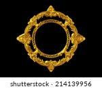 Circle  Ornamental Frame