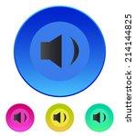 speaker icon. volume min....
