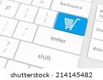 Shopping Enter Button Key On...