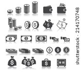 money icon | Shutterstock .eps vector #214170748