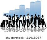 business concept | Shutterstock .eps vector #21418087