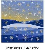 starry night | Shutterstock .eps vector #2141990