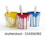 paint  diy   | Shutterstock . vector #214206382