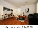 living room  with photos on the ... | Shutterstock . vector #2142233
