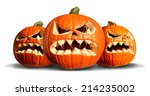 Pumpkin Monster Group With...