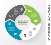 vector circle arrows for... | Shutterstock .eps vector #214270318