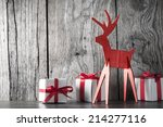 Christmas Decoration With Gift...