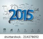 blue tags label 2015 text... | Shutterstock .eps vector #214278052