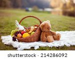 basket for picnic