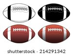 football simple to complex is... | Shutterstock .eps vector #214291342