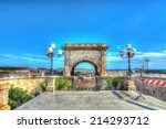 saint remy bastion on a clear... | Shutterstock . vector #214293712