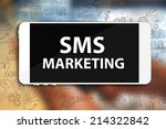 sms marketing | Shutterstock . vector #214322842