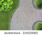 garden design detail with... | Shutterstock . vector #214325002