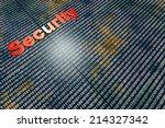 secure digital data. 3d...   Shutterstock . vector #214327342