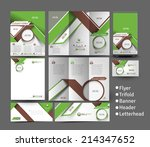 home security center stationery ... | Shutterstock .eps vector #214347652
