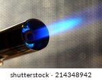 Stock photo blowtorch 214348942