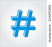 hashtag   Shutterstock .eps vector #214352302