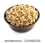 Corn Flakes Rings In Bowl ...