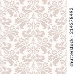damask seamless floral pattern. ... | Shutterstock .eps vector #214378492