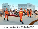a vector illustration of rescue ...   Shutterstock .eps vector #214444558