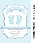 Baby Boy Baby Shower Invitatio...