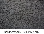 Elephant Skin For Background O...