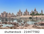 Chhatris Or Cenotaphs Are Dome...