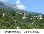 simeiz settlement and ai petri... | Shutterstock . vector #214485202
