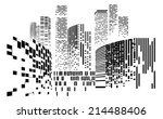 vector design building and city ... | Shutterstock .eps vector #214488406