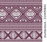 ethnic ornamental textile... | Shutterstock .eps vector #214490842