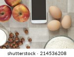 baking set | Shutterstock . vector #214536208