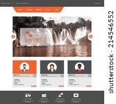flat business website template...