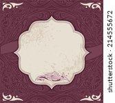 invitation  congratulation... | Shutterstock .eps vector #214555672