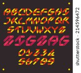 zigzag   Shutterstock .eps vector #214596472