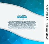 abstract creative concept... | Shutterstock .eps vector #214610872