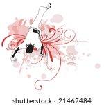 illustration of a capoeira... | Shutterstock .eps vector #21462484
