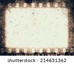 film frame texture | Shutterstock . vector #214631362